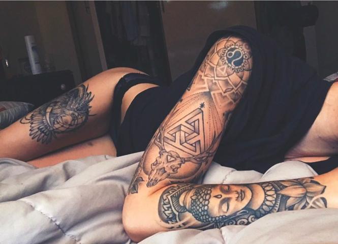 Фото №1 - Ученые назвали главную опасность татуировок