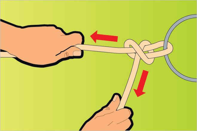 Завязать узел