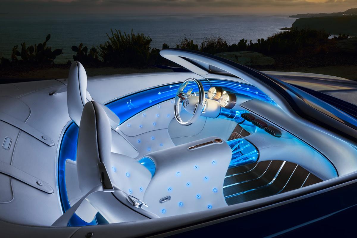 Интерьер Vision Mercedes-Maybach 6 Cabriolet
