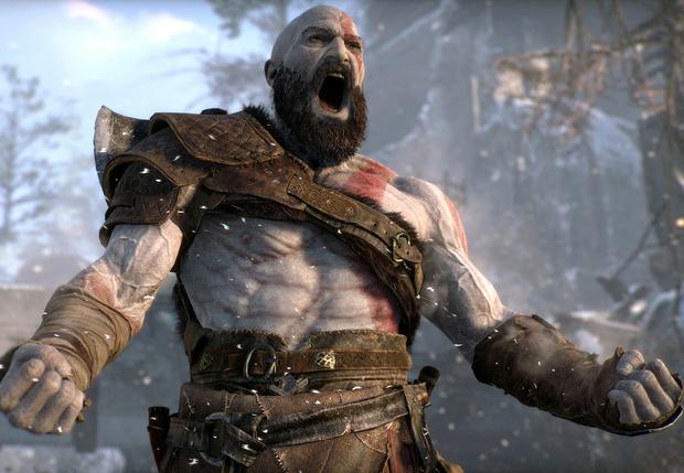 Фото №1 - Татуировка, борода и топор: почему все говорят о новой God of War