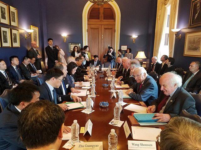 Фото №1 - Одно интересное фото: кое-что про Китай и США