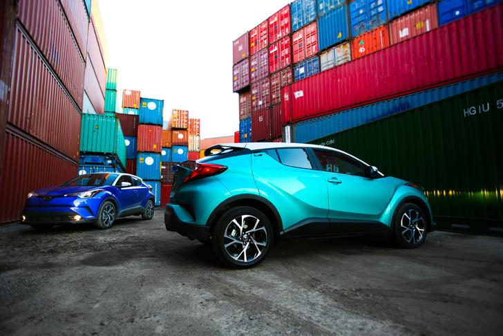 Фото №9 - Toyota C-HR: дизайн рулит