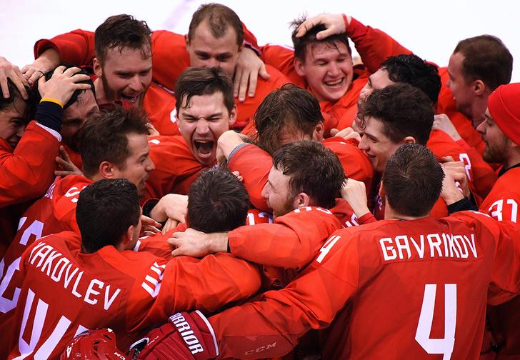 Фото №1 - 5 причин, почему Россия выиграла золото в хоккее