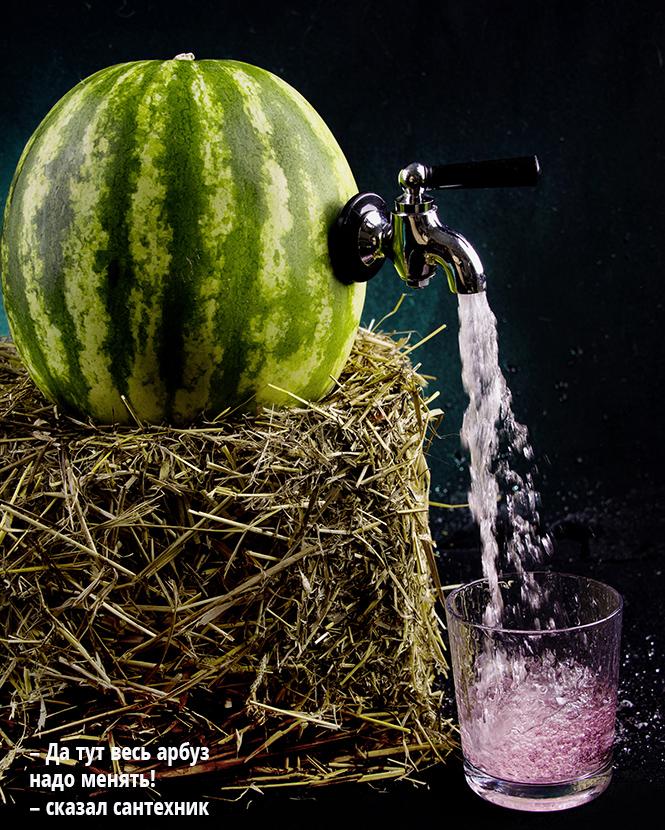 Фото №2 - Как выпить арбуз