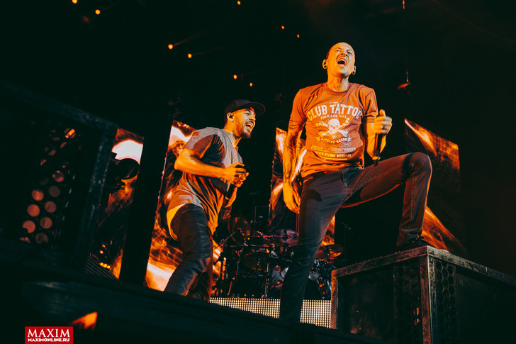 Фото №3 - Вопли рока. Что творилось на концерте Linkin Park