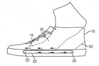 Nike запатентовал кроссовки с беговой дорожкой в стельке