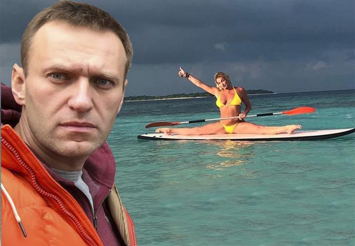 Фото №1 - Как Волочкова Навального на «шпагатную дуэль» вызывала. История балетно-политического конфликта