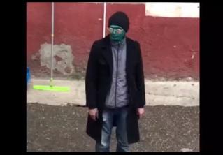Краснодарец измазался зеленкой, чтобы безнаказанно совершить преступление