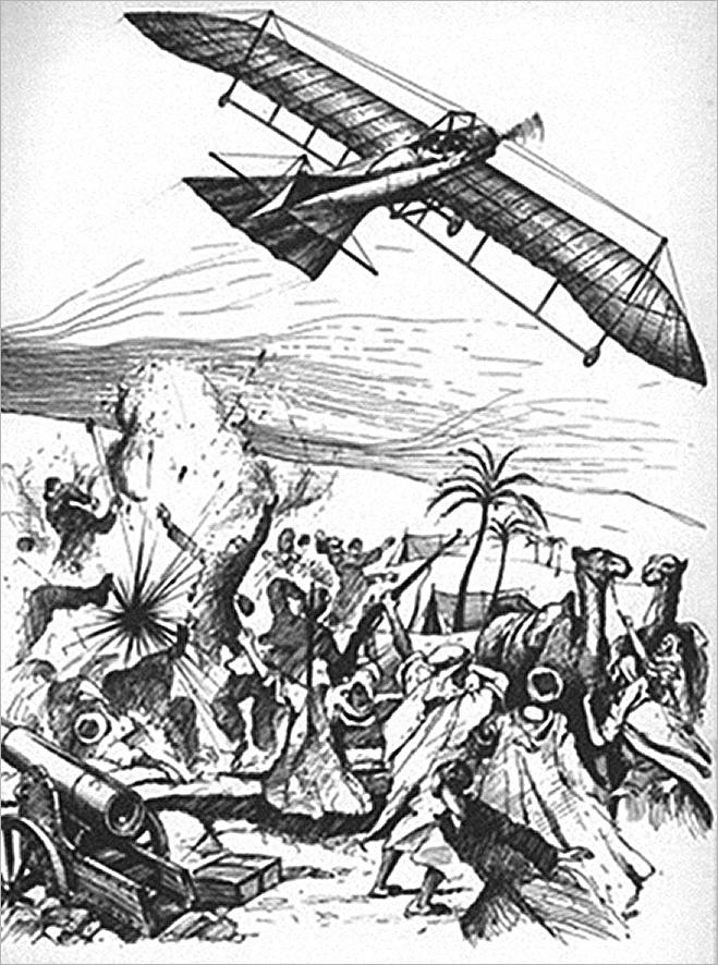 Атака этажерок-убийц. История первых самолетов-бомбардировщиков