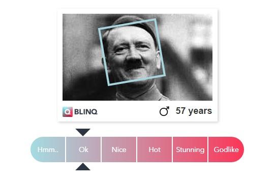 Сайт, который определяет насколько ты привлекателен!