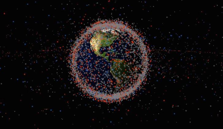 Фото №1 - Китайцы разработали спутник, который будет ловить и двигать другие спутники