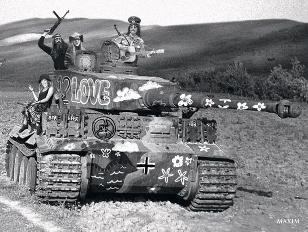 Фото №5 - Если бы Гитлер был хиппи