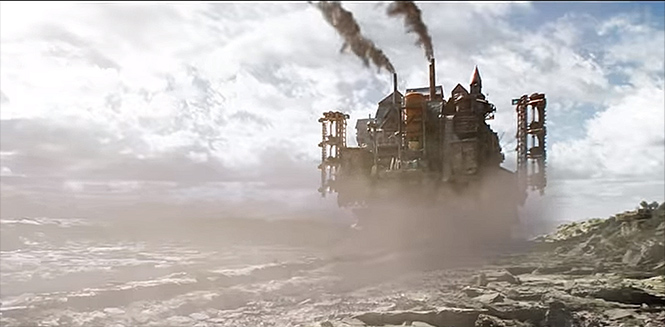 Фото №2 - Первый трейлер эпичной фантастики «Хроники хищных городов» от Питера Джексона