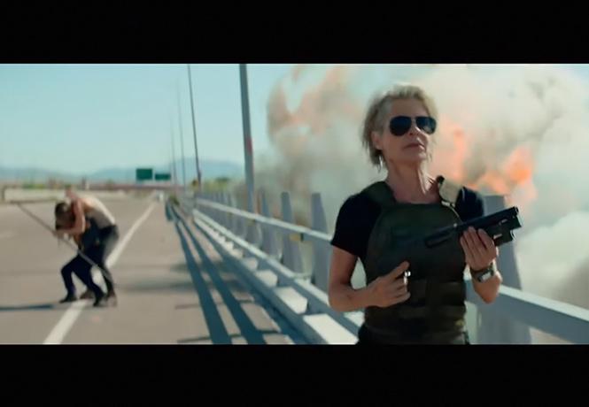 Фото №1 - Съемочный ролик нового «Терминатора» выглядел зажигательнее трейлера