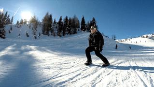 Как быть лыжником без лыж (ВИДЕО)