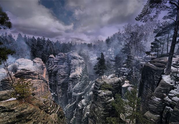 Фото №1 - В Чехии нашлось место, неотличимое от локаций видеоигр