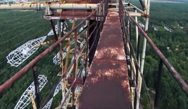 Фото №6 - Вид с воздуха на легендарную чернобыльскую «Дугу», и что это вообще такое