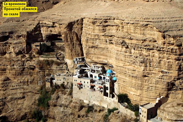 Фото №1 - Идея для библейского отпуска: Монастырь Св. Георгия, Израиль
