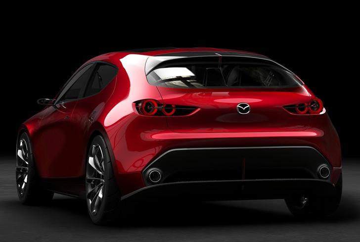 Фото №7 - Концепт Kai — предвестник новой Mazda3?