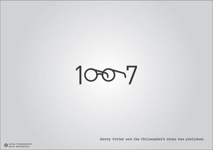 Фото №10 - Исторические даты в минималистичных иллюстрациях