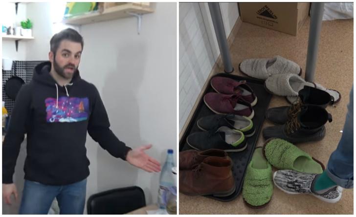 Фото №1 - Американец снял видео о квартире, в которой живет в России