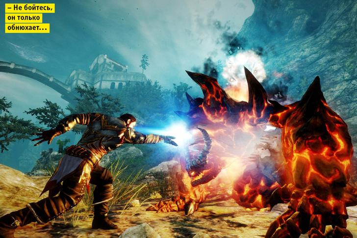 Фото №1 - 8 плюсов и минусов новой ролевой игры Risen 3: Titan Lords