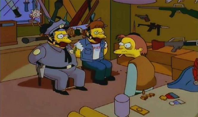 Забавнейшие киноцитаты в «Симпсонах»