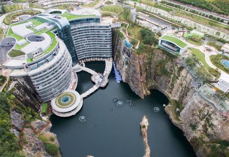 Первый «подземный» отель открылся в Китае (фото)