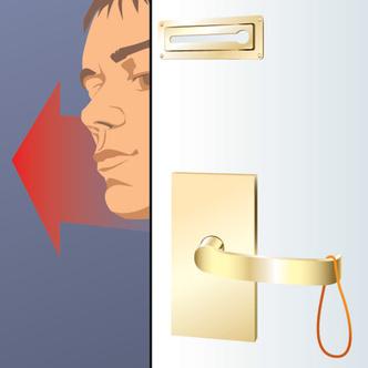 Фото №4 - Как открыть дверь, закрытую на цепочку
