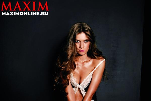 Любовь Семенова для Maxim