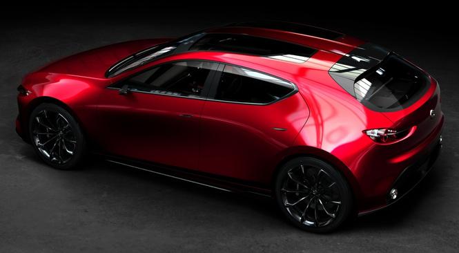 Концепт Kai — предвестник новой Mazda3?
