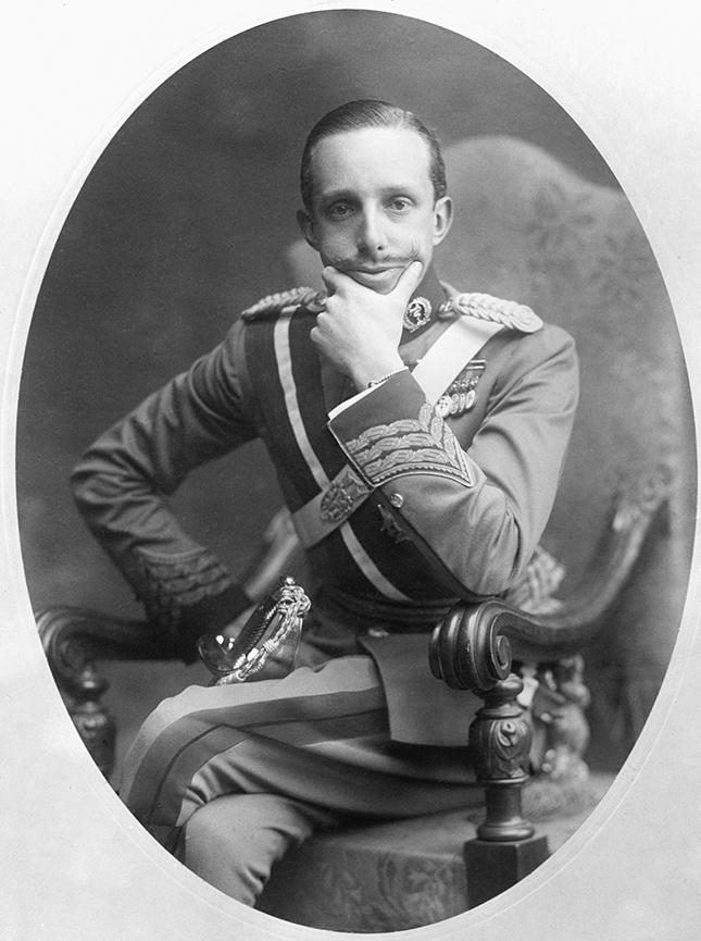 Король Испании Альфонсо XIII, 1918 год
