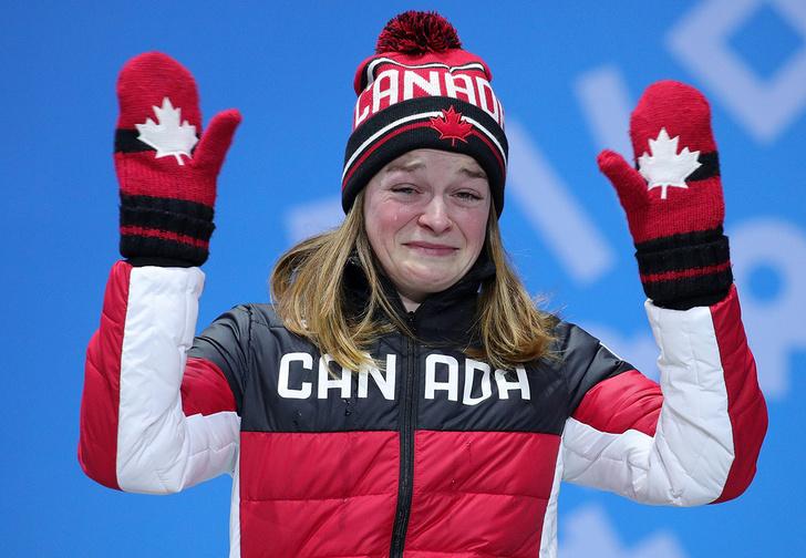 Фото №1 - «Я тебя найду, и ты умрешь!» Канадке угрожали смертью после бронзы Олимпиады