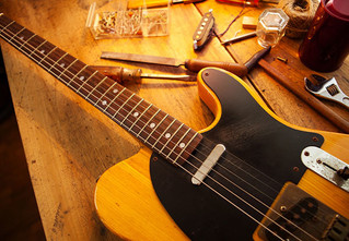 Гитары Fender: теория суперструн