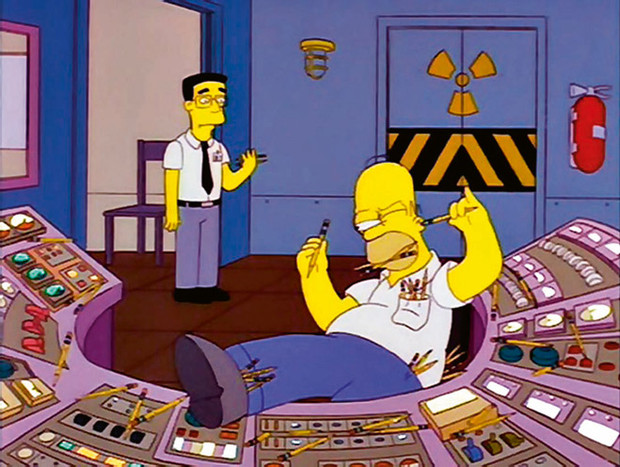 Гомер на атомной станции