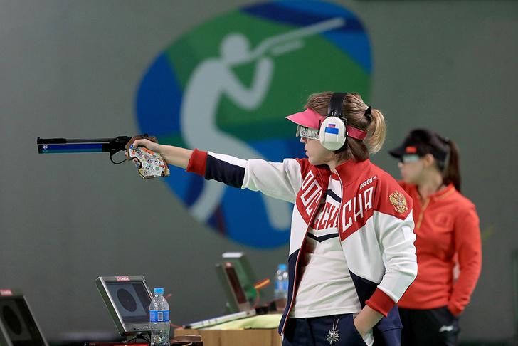 Виталина Бацарашкина на Олимпиаде в Рио 2016