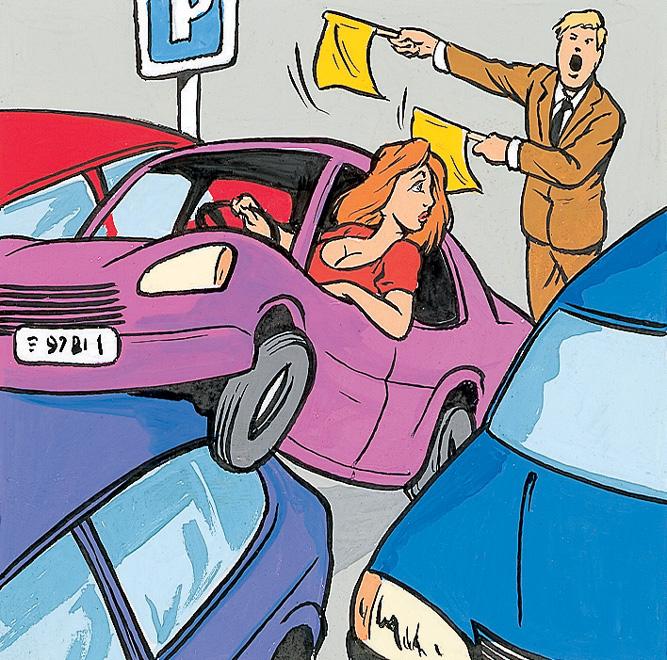 Фото №2 - Еще один нетривиальный способ знакомства: помощь с парковкой