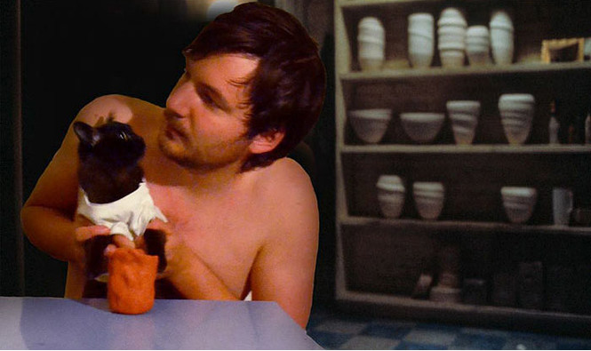 Очень смешной «Инстаграм» с котиками, воссоздающий культовые сцены из фильмов!