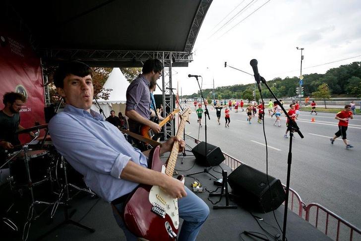 Музыкальный полумарафон в Москве
