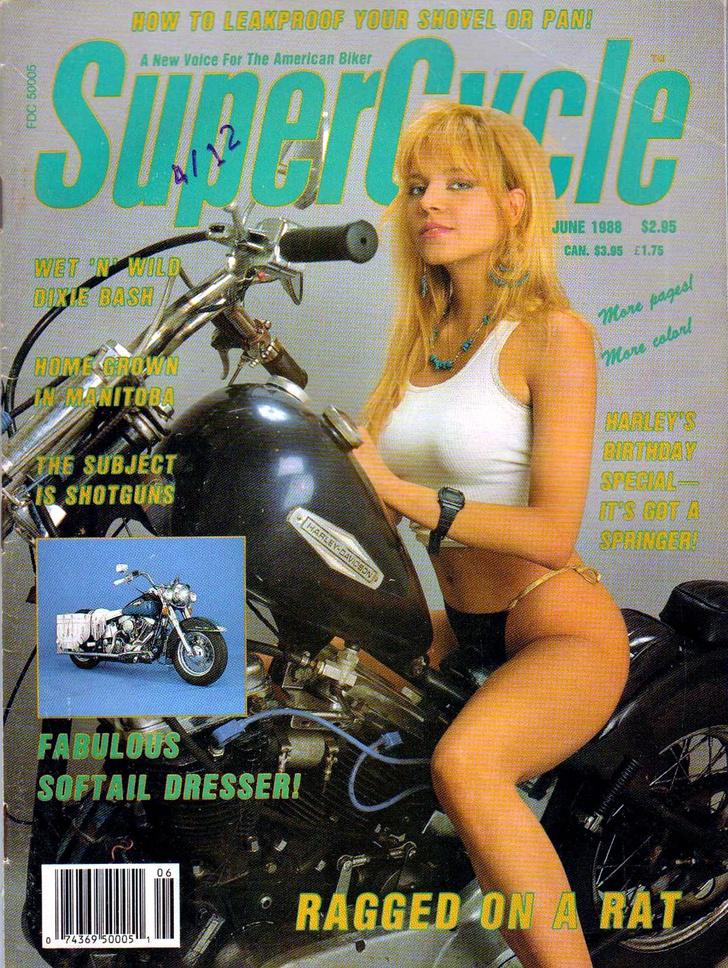 Фото №11 - Сексуальные девушки байкеров из 1980-х!
