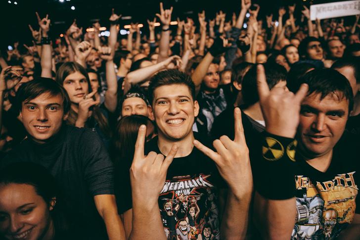Фото №1 - Megadeth подняли температуру в Москве — посмотри и приобщись!