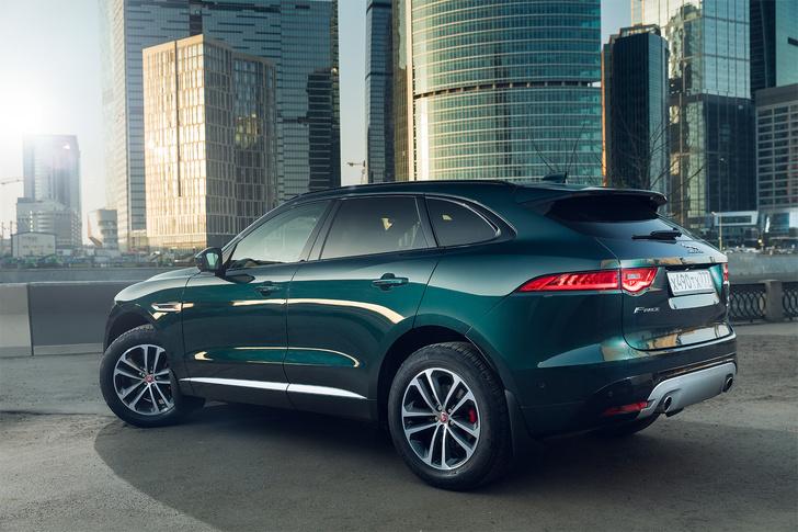 Фото №30 - Jaguar F-Pace: кроссовер как предчувствие