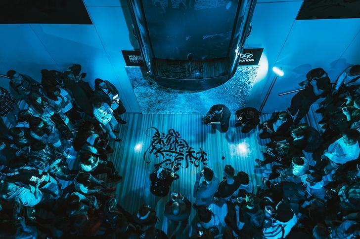 Фото №3 - Покрас Лампас и его каллиграфия в Hyundai Motorstudio