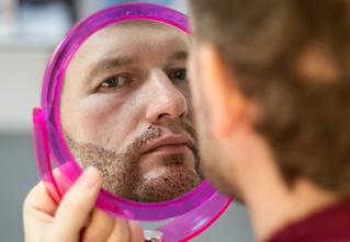 Наш доброволец решился на операцию по пересадке бороды! Вот как это было...