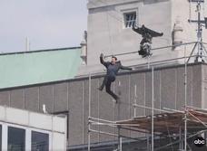 Том Круз получил травму бери съемках «Миссия невыполнима — 0» (видео)