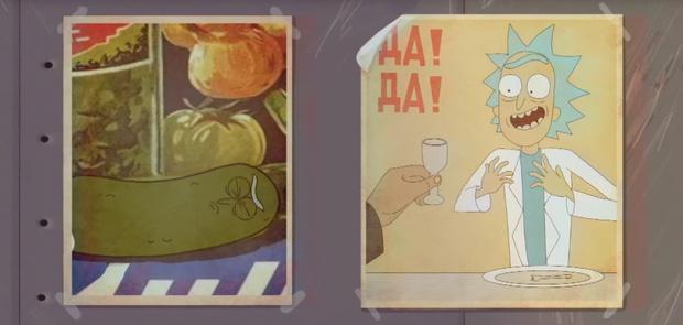 Фото №1 - 25 художников нарисовали альтернативную заставку к сериалу «Рик и Морти»