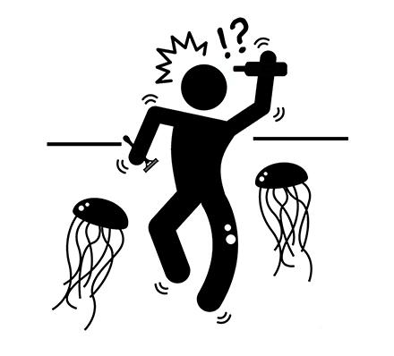Фото №2 - Как облегчить страдания при укусе медузы, если урины нет под рукой
