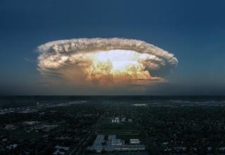 Мирный атомный взрыв и еще 8 сногсшибательных пейзажей!