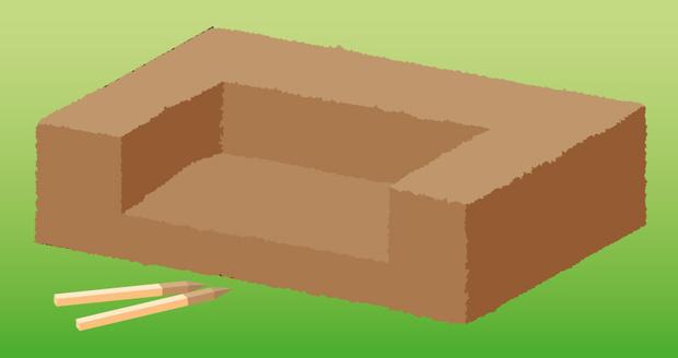 Фото №3 - Как сделать на даче травяной диван
