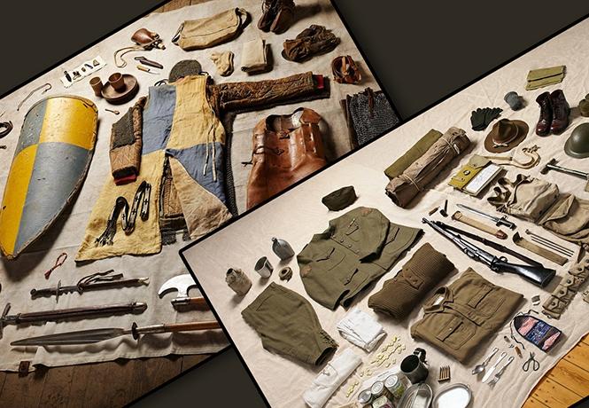 Фото №1 - Что солдаты берут на поле боя: 13 боекомплектов от древности до наших дней